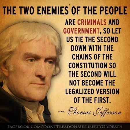 Two enemies of the people